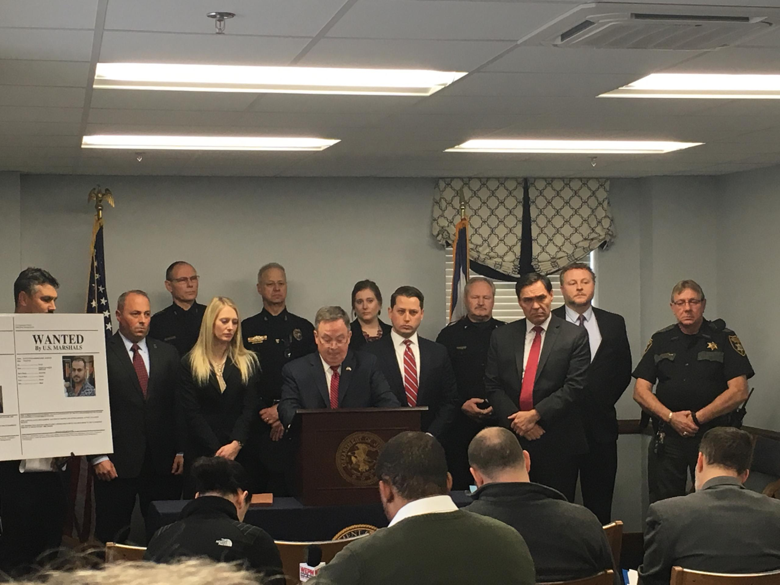 After nearly a two-year investigation into a drug trafficking operation that spanned multiple states, 10 people (including two MS-13 gang members) were indicted on a variety of federal charges.