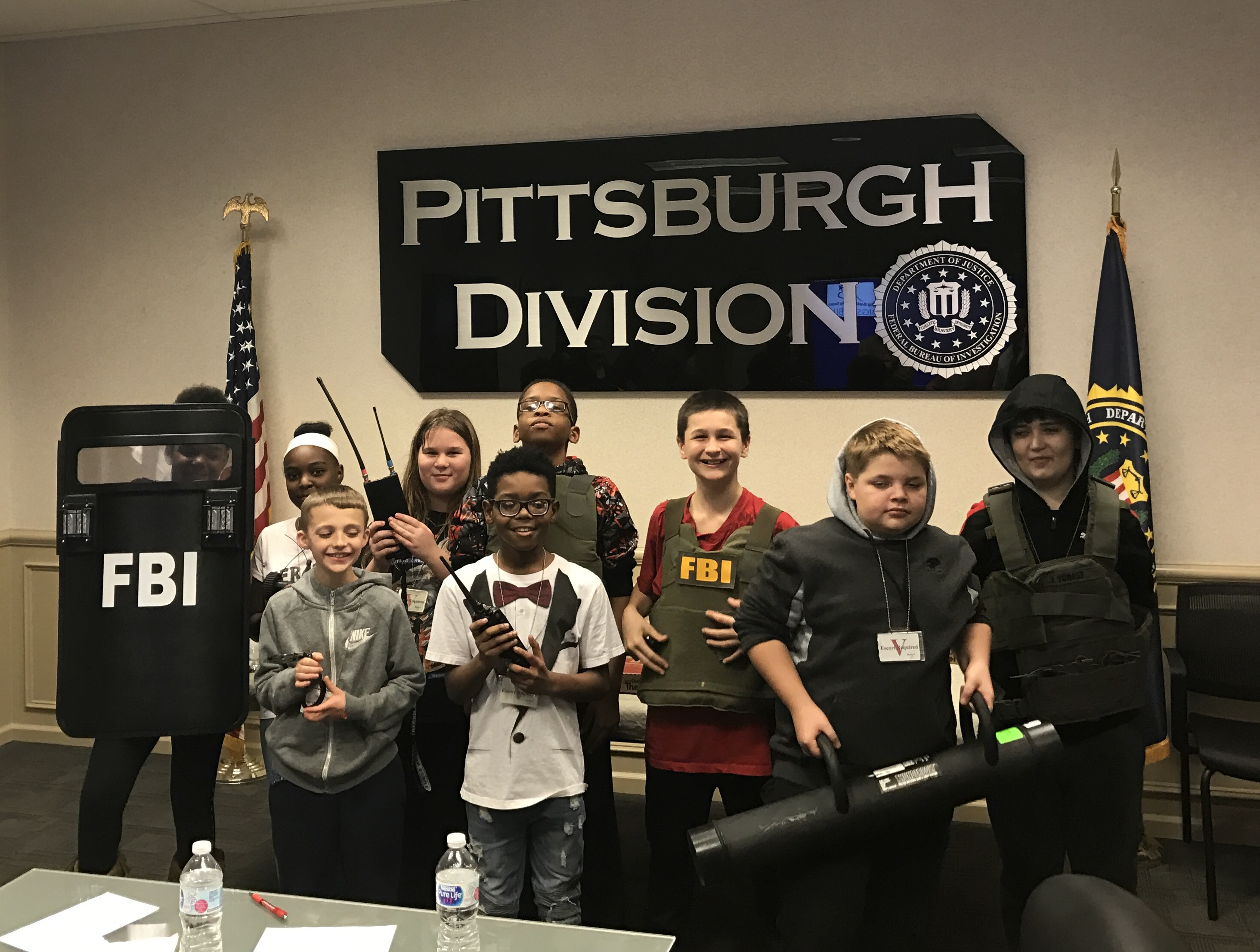 The FBI Pittsburgh Field Office is teaming up with Big Brothers Big Sisters to help mentor youth in the Pittsburgh area.