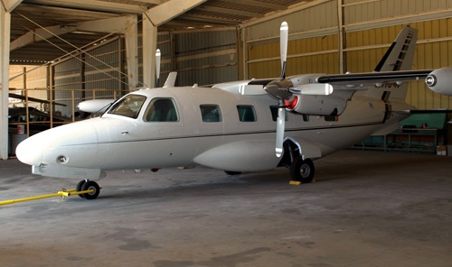 "Nicodemo ""Nicky"" Scarfo, Jr. and his La Cosa Nostra associate Salvatore Pelullo used some of the millions they illegally siphoned from FirstPlus Financial Group Inc. to buy this airplane."