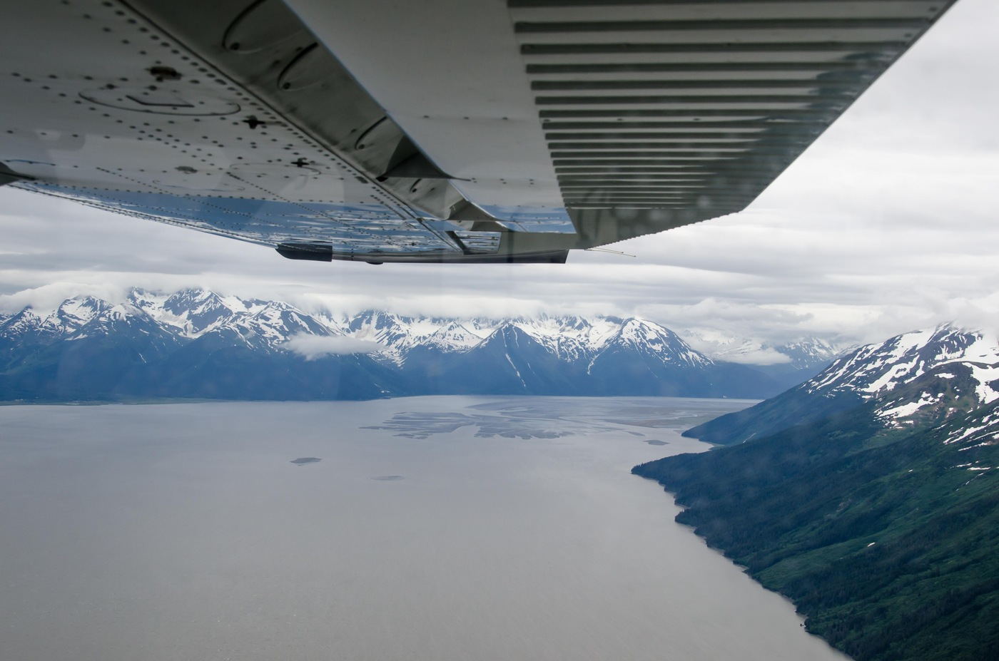 In many cases, getting to remote Alaskan villages and towns requires a plane or a boat.