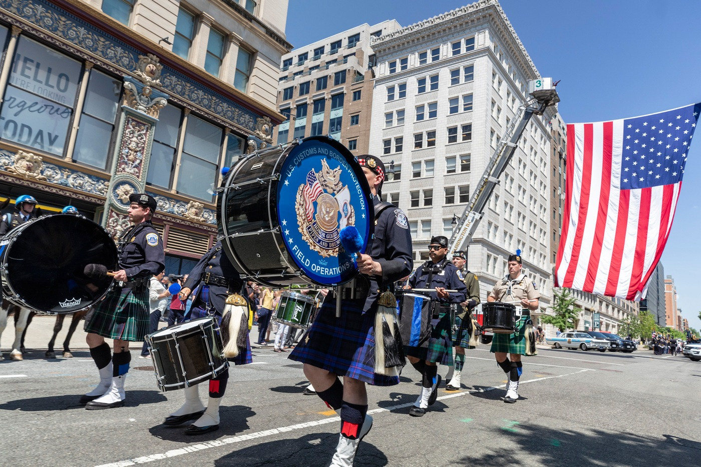 National Police Week 2019: Blue Mass Band Procession