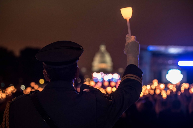 2018 Police Week Candlelight Vigil