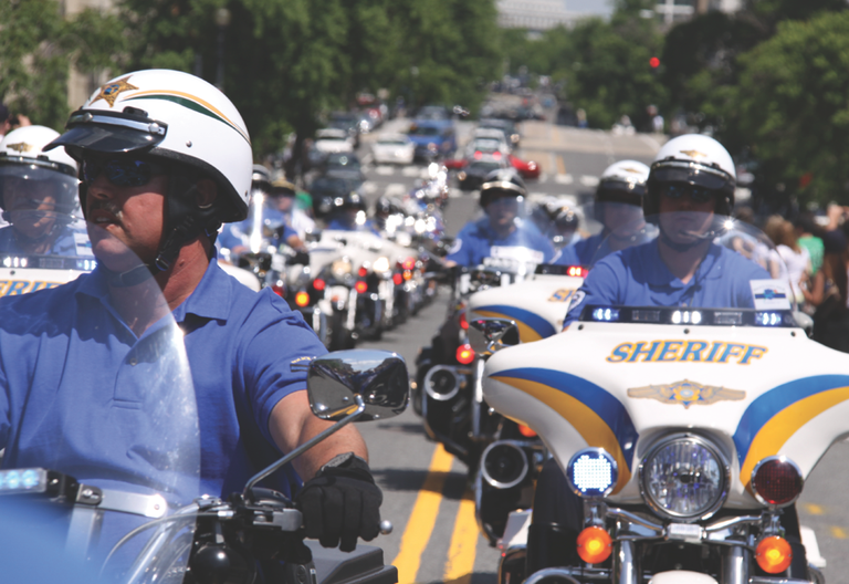 Approximately 1,200 law enforcement officers took part in the Police Unity Tour this year as a way to pay tribute to their fellow officers killed in the line of duty.