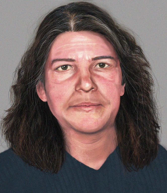 An age-progressed photo depicts wanted fugitive Josephine Sunshine Overaker at 41. On January 19, 2006, a federal grand jury in Eugene, Oregon, indicted Josephine Sunshine Overaker on multiple charges related to her alleged role in a domestic terrorism cell as part of Operation Backfire.