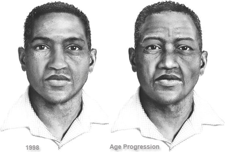 Composite of Potomac River Rapist Suspect