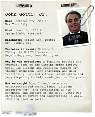 Criminal Profile of John Gotti