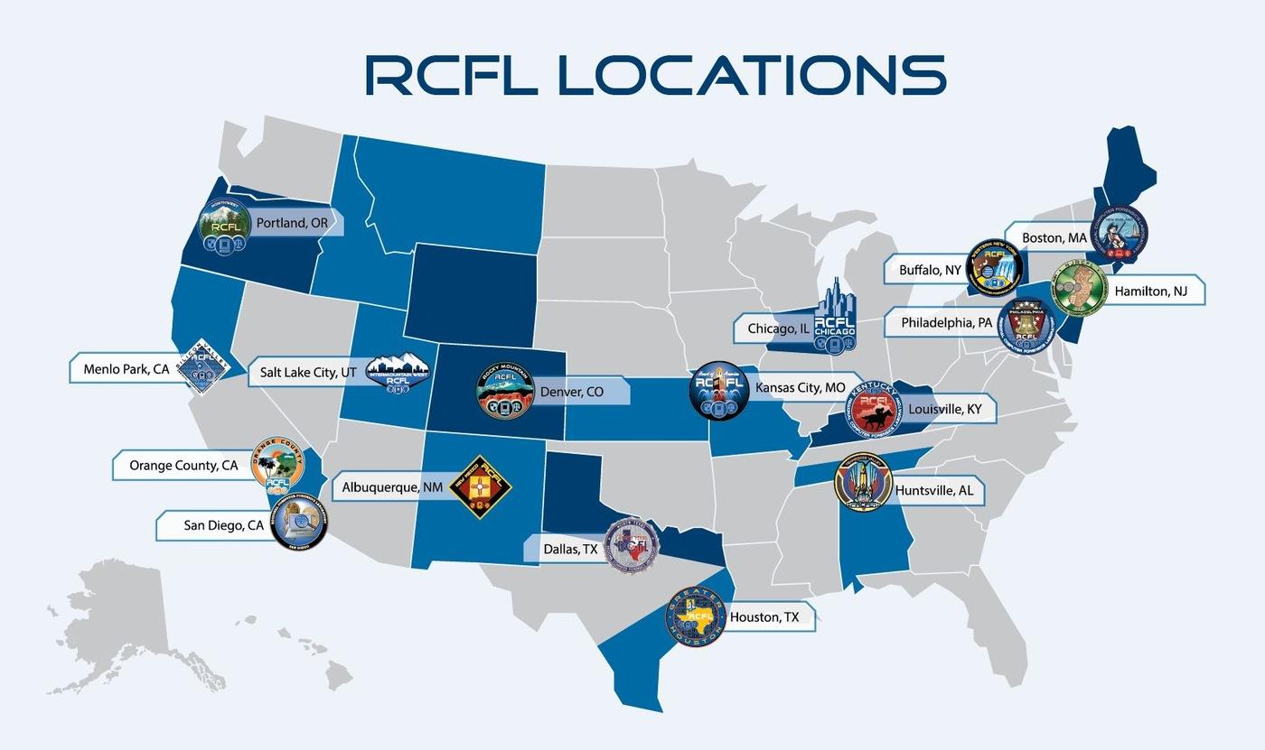 RCFL Locations