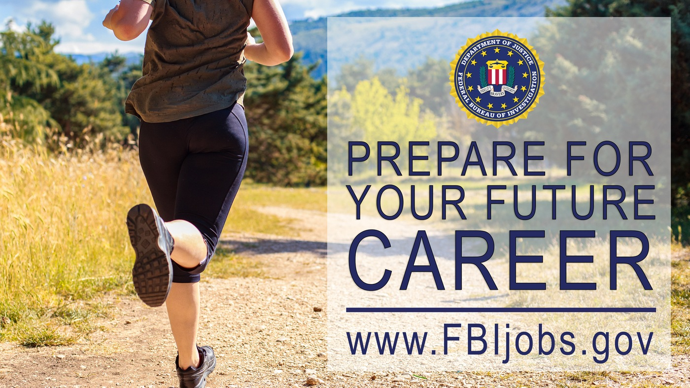 FBI Jobs Recruiting Poster