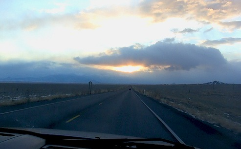 Road and Horizon in New Mexico