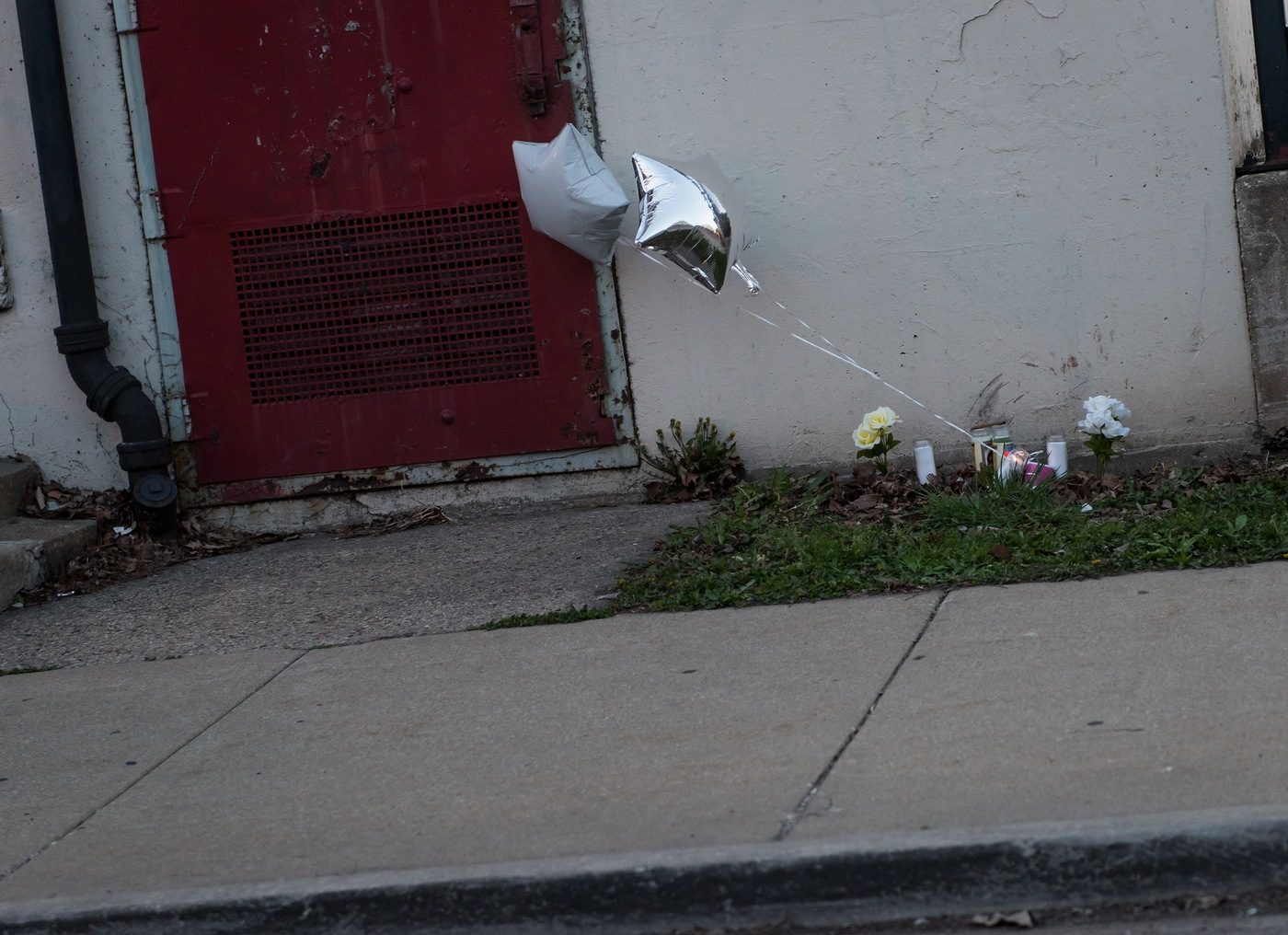 Roadside Memorial in Chicago
