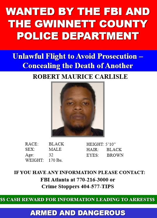 Robert Maurice Carlisle, wanted fugitive