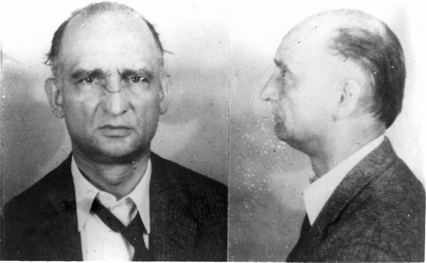 Russian spy Colonel Rudolph Abel, who was convicted of espionage in 1957.