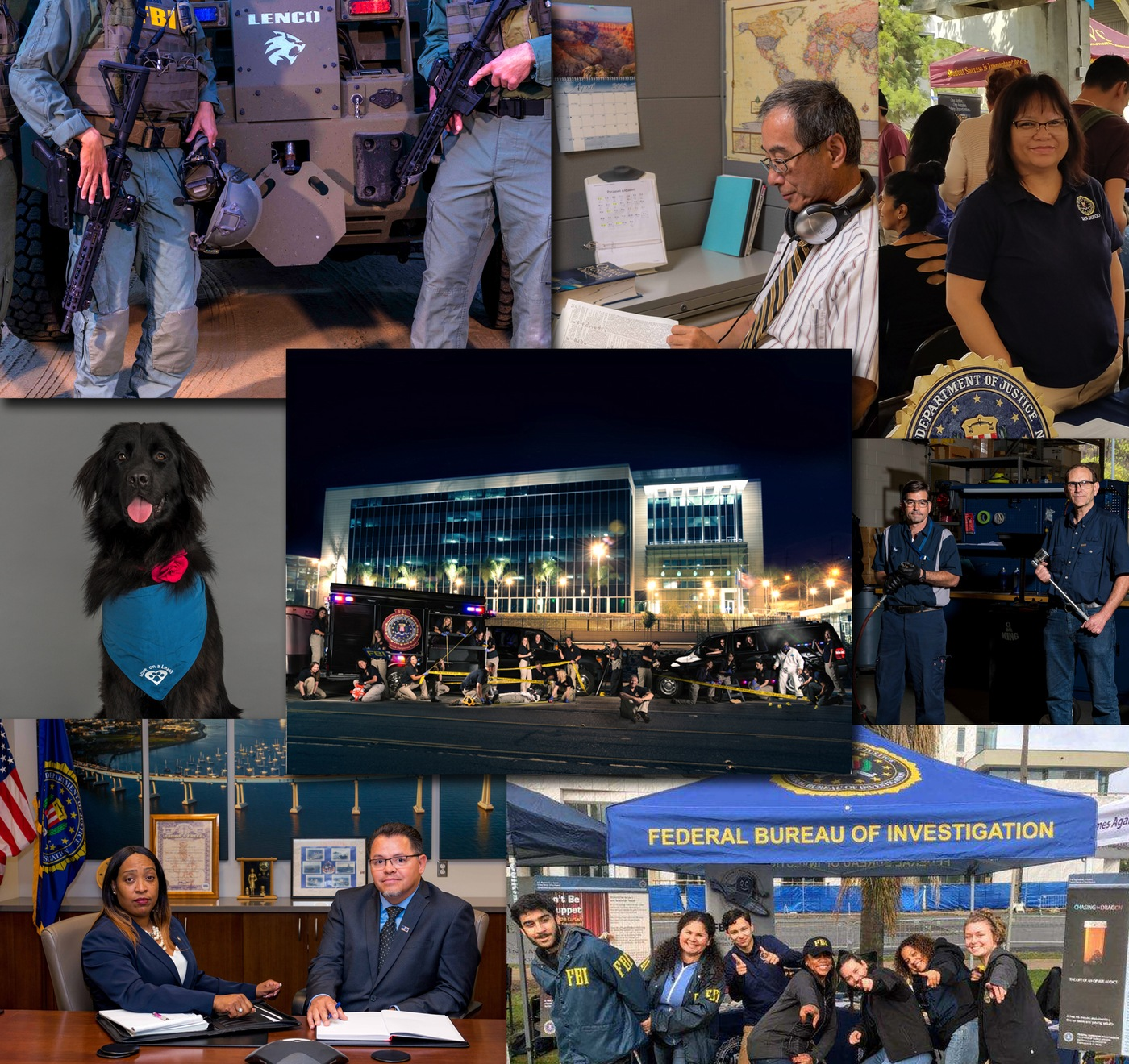 FBI San Diego Recruitment (tile graphic for main page)