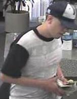 San Diego Bank Robbery Suspect, Photo 3 of 8 (5/29/14)