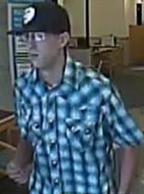 Suspect responsible for robbing the Citibank located at 1611 South Melrose in Vista, California, on Saturday, May 31, 2014.