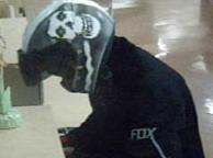 Suspect who robbed the Union Bank located inside the Ralph's Supermarket at 101 Old Grove Road in Oceanside, California, on Tuesday, June 3, 2014.