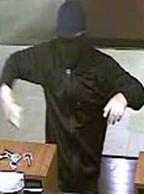 The El Chapparito Bandit is believed to be responsible for robbing 15 banks from November 2013 to September 13, 2014. Here, he is shown robbing the Chase Bank, 4500 Bonita Road, Bonita, California, on January 3, 2014.