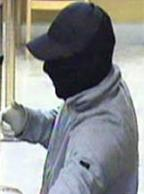 The El Chapparito Bandit is believed to be responsible for robbing 15 banks from November 2013 to September 13, 2014. Here, he is shown robbing the Wells Fargo Bank, 1220 Cleveland Avenue, San Diego, California, on January 23, 2014.