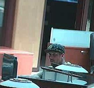 San Diego Bank Robbery Suspect, Photo 4 of 4 (5/9/14)
