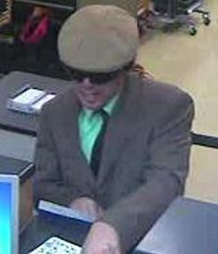 San Diego Bank Robbery Suspect, Photo 2 of 8 (5/21/14)