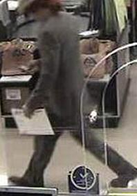 San Diego Bank Robbery Suspect, Photo 4 of 8 (5/21/14)