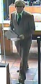 San Diego Bank Robbery Suspect, Photo 6 of 8 (5/21/14)