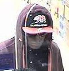 Suspect who robbed the U.S. Bank branch located inside the Von's Grocery Store at 1745 Eastlake Parkway, Chula Vista, California on August 22, 2014. The unknown male suspect also robbed a U.S. Bank located inside another Von's Grocery Store located at 620 Dennery Road in San Diego, California, on Friday, August 8, 2014.