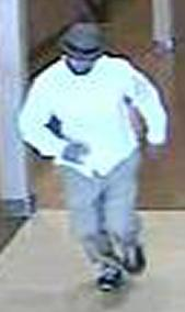 Suspect responsible for robbing the Chase Bank branch located at 985 East Vista Way in Vista, California, on Thursday, November 6, 2014. The Bearded Bandit is also believed to be responsible for the October 15, 2014 robbery of the Chase Bank branch located at 1641 South Melrose Drive in Vista, California and the October 7, 2014 bank robbery at the Wells Fargo Bank branch located at 685 Saturn Boulevard in San Diego, California.