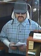 Suspect who attempted to rob the Citibank branch located at 1910 Garnet Avenue in San Diego, California, on Wednesday, December 9, 2015.