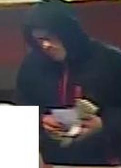 Suspect who robbed the Citibank, located at 2240 Otay Lakes Road, Suite 304 in Chula Vista, California, on Saturday, January 24, 2015.