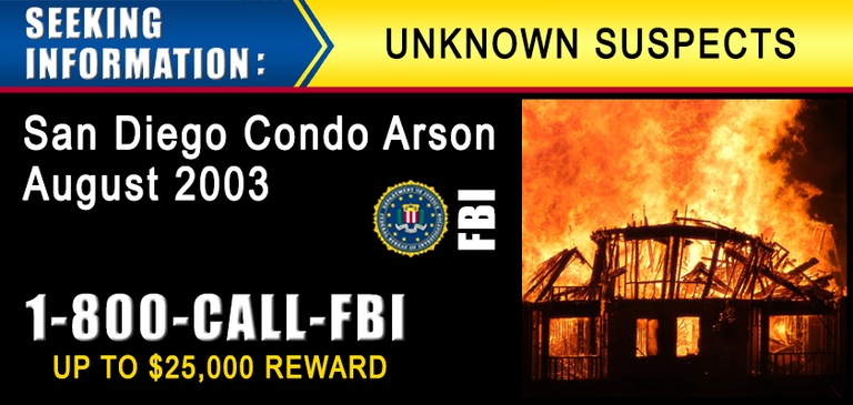San Diego Condo Arson