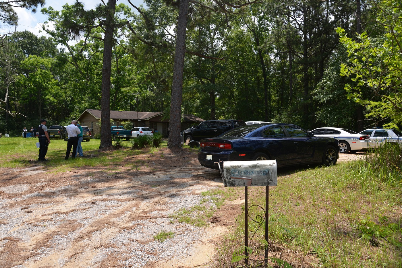 Scene of the Murder of Mercedes Williamson