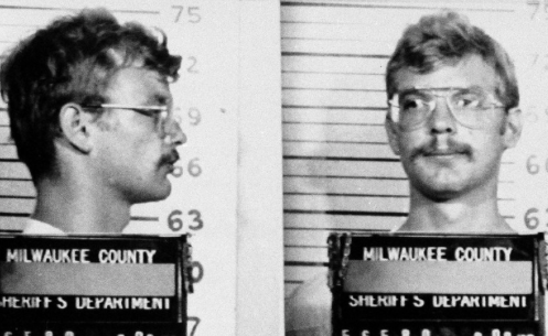 In this 1991 handout from the Milwaukee County Sheriff's Department, serial killer Jeffrey Dahmer is seen in a police mugshot. (AP Photo/Milwaukee County Sheriff's Department).