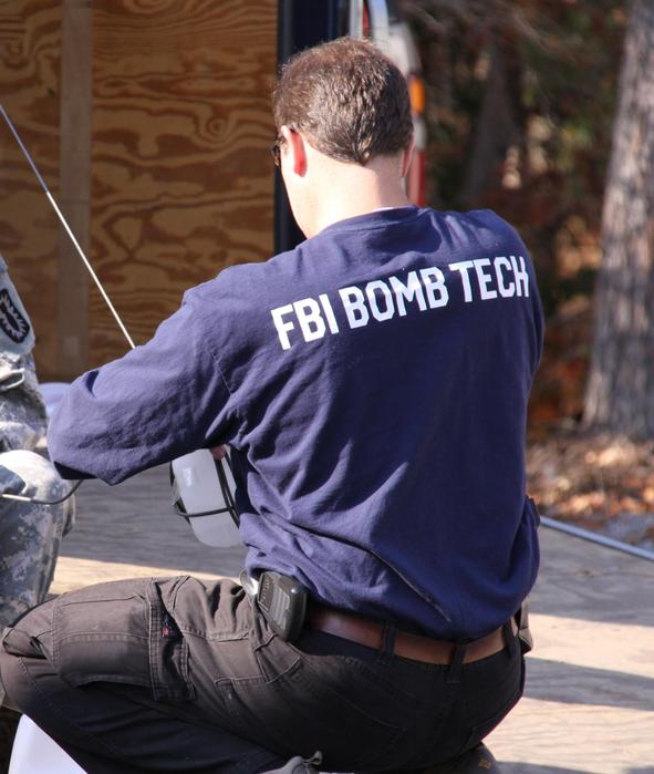 FBI Bomb Tech