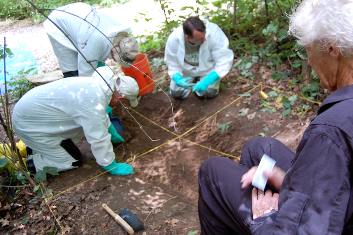 Students Excavate Site at Body Farm in Tennessee