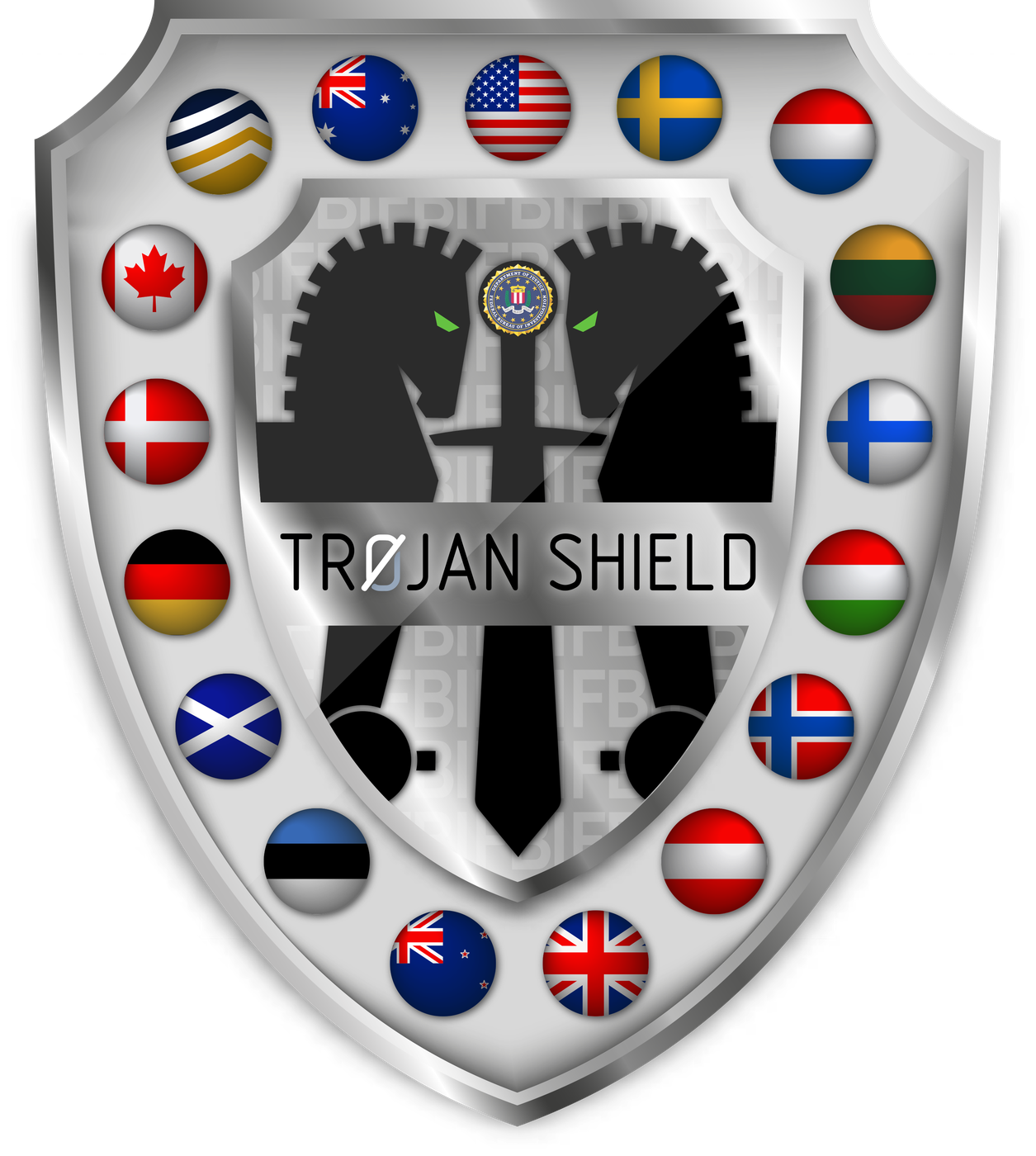 Operation Trojan Shield - Seal
