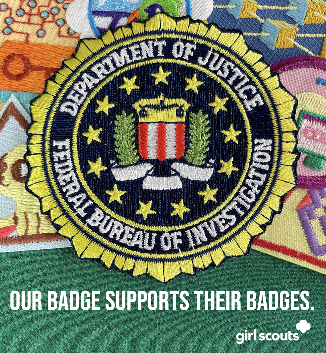 FBI seal patch