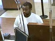 Suspect wanted for his alleged involvement in at least three bank robberies: the Chase Bank, on Gravelly Lake Drive SW, Lakewood, Washington on August 16, 2014; the Bank of America, on 104th Avenue SE, Kent, Washington on August 18, 2014; and the Chase Bank on A Street SE, Auburn, Washington on August 18, 2014.