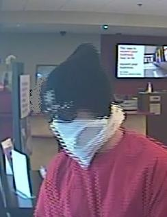Suspect may be responsible for three robberies in Issaquah from February 22, 2014 to July 11, 2014.