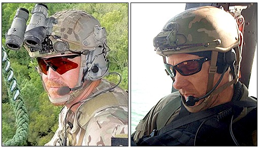 Steve Shaw, left, and Chris Lorek were special agents and members of our Hostage Rescue Team.