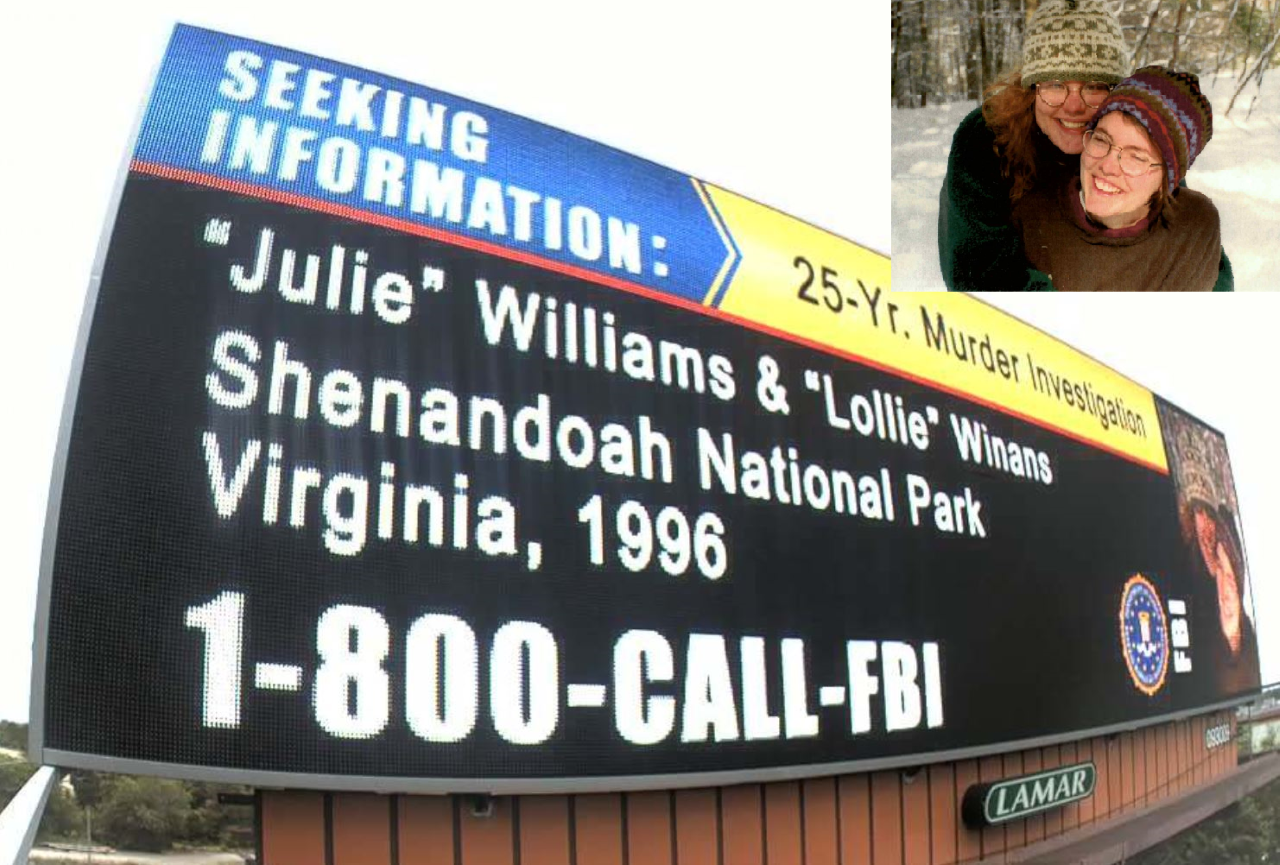 "Seeking Information: Julianne ""Julie"" Williams and Laura ""Lollie"" Winans"