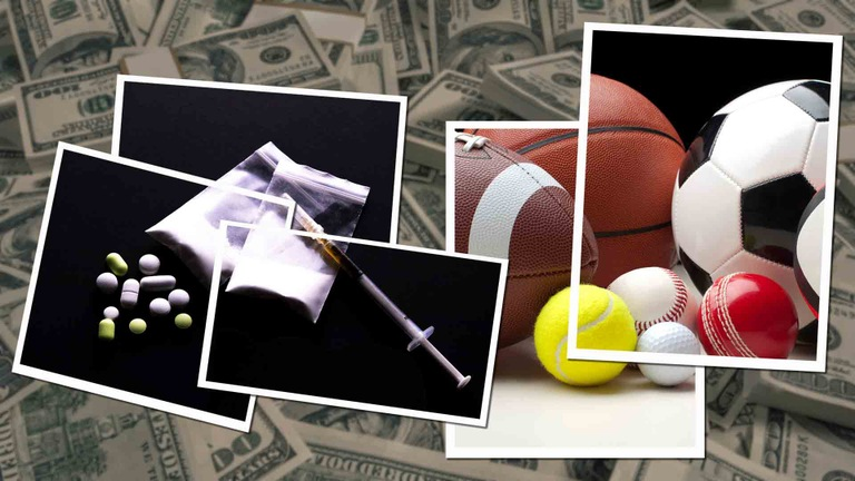 Sports Gambling Imagery (Stock Graphic)