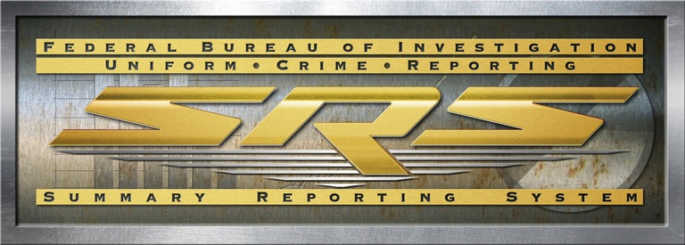 Logo for the FBI's Uniform Crime Reporting (UCR) Program's Summary Reporting System (SRS).