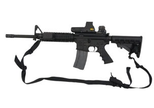 The FBI is offering a reward of up to $10,000 for information leading to the recovery of items stolen from an FBI agent's car in Washington, D.C. on July 10, 2016. Among the stolen items was a Rock River Arms Rifle, LAR-15, Serial Number CM156996.