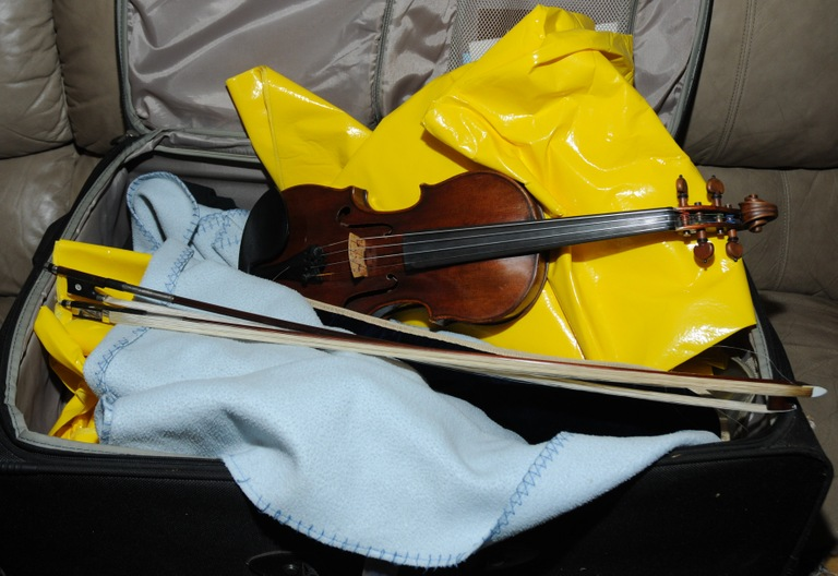 The Lipinsky Stradivarius, shown here shortly after recovery, is 300 years old and valued at more than $5 million. See https://www.fbi.gov/news/stories/the-case-of-the-stolen-stradivarius for details.
