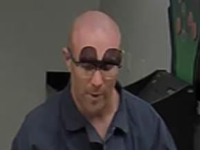 Suspect who committed nine bank robberies throughout the East Coast and Central Florida region between December 2013 and April 2014.