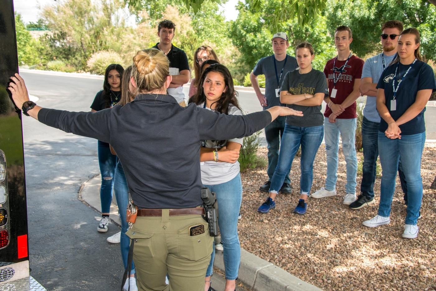 Albuquerque FBI Teen Academy Photo 2