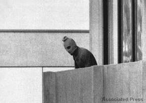Terrorists at 1972 Olympics (AP Photo)
