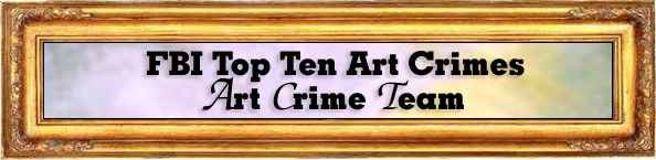 FBI Top Ten Art Crimes Banner Art