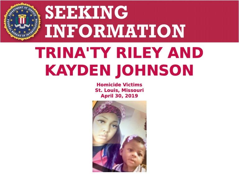 Trina'ty Riley and Kayden Johnson